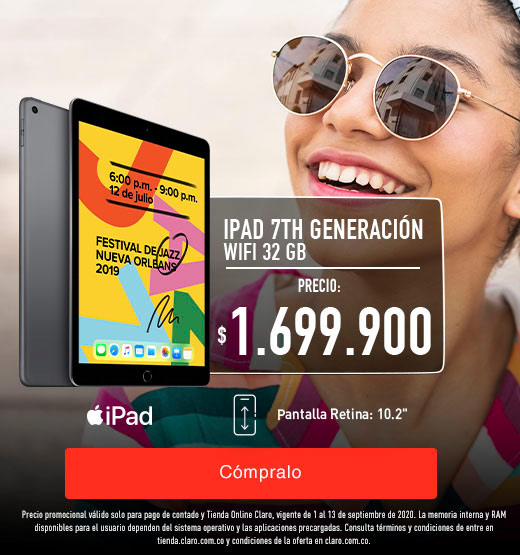 iPad 7th generación Wifi